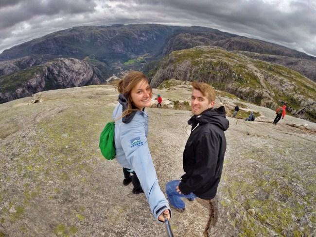 Hiking Kjeragbolten Norway