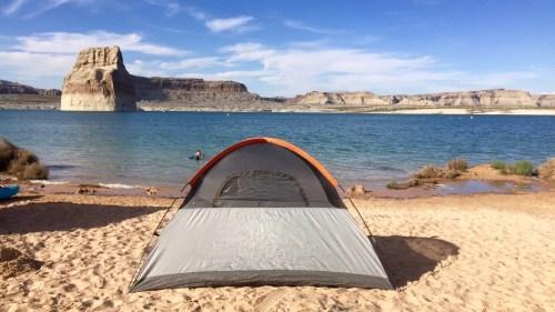 Lone Rock Beach, Lake Powell, Utah