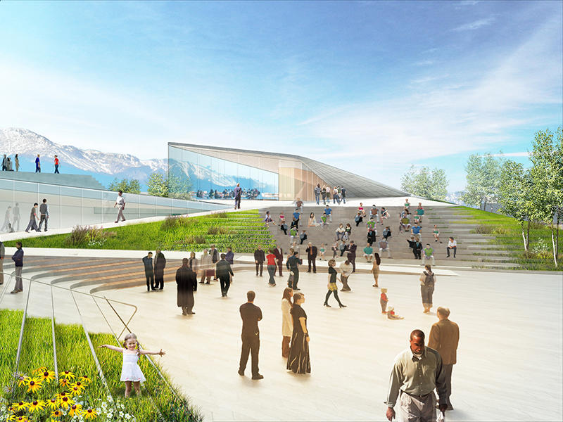 IN MOTION: RENDERINGS FOR THE U S  OLYMPIC MUSEUM BY DILLER