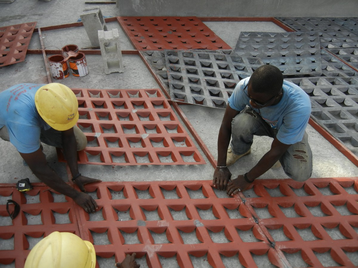 Gheskio Cholera Treatment Center construction 2