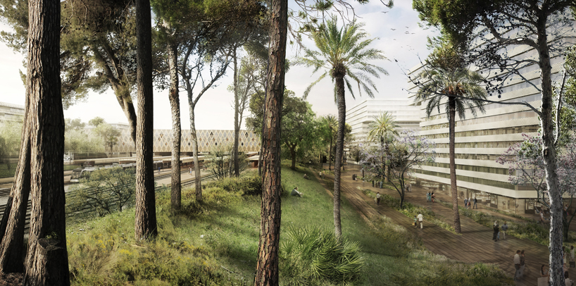AZPML-architects-rabat-agdal-masterplan-and-train-station-morocco-designboom-05