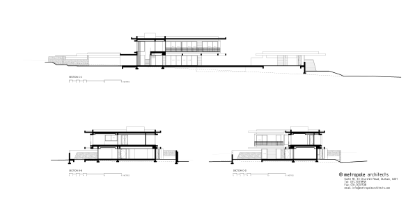 TLV HOUSE elevations and sections 2