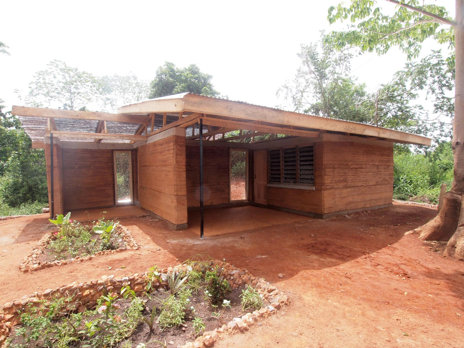 The Nkabom House A Case Study For Earth Construction And Recycling