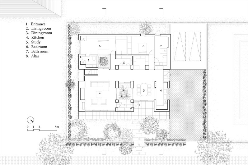hoan house_vo trong nghia_d02_1F_plan