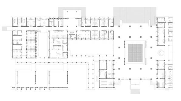 Niger General Hospital_36_CADI_Emergency Building Ground Floorplans