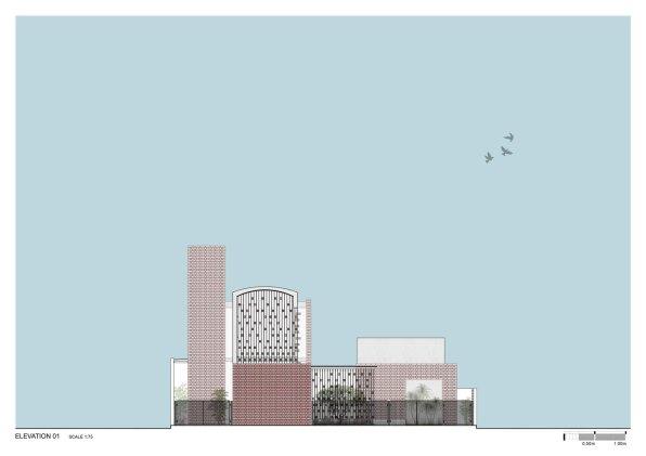 Brick House ELE_01__Architecture Paradigm