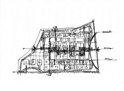 Mohammed VI Polytechnic Uni_27_concept & detail sketches