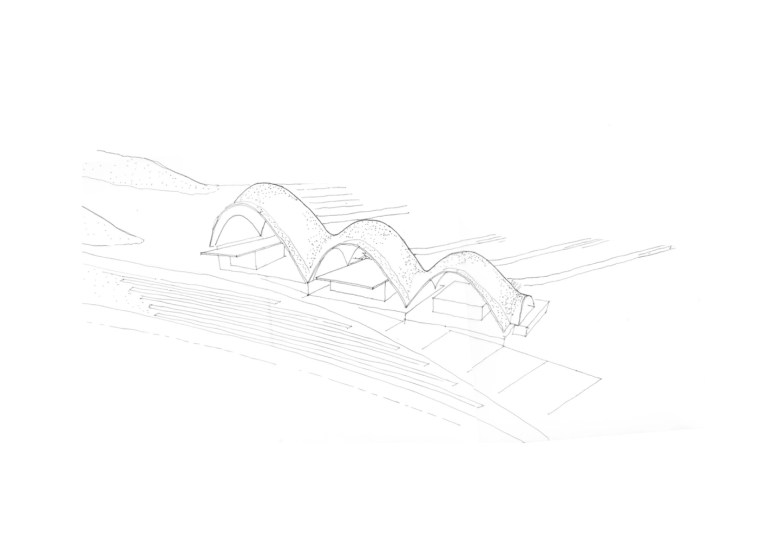 Rwanda Cricket Stadium_12_Light Earth Designs_Concept Sketch