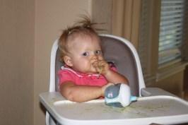 I love Mommy's pasta!