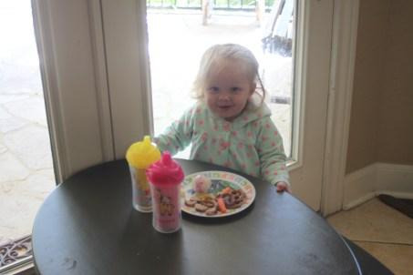 I love my big girl table!