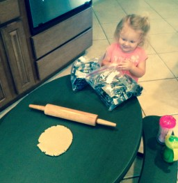 Cookies - Picking out the letter cutters!