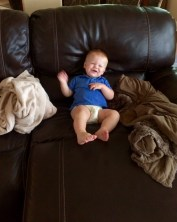 I love the couch!