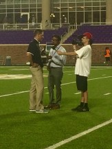 Interview after the game