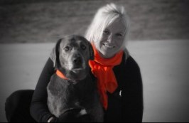 Megan and Smoke Promoting the Fight Against MS