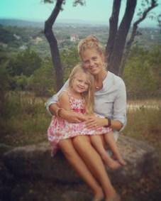 Landri & Mommy
