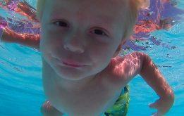 Ty Swims!
