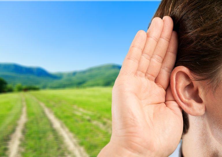 Listen ear hear survey people person secret
