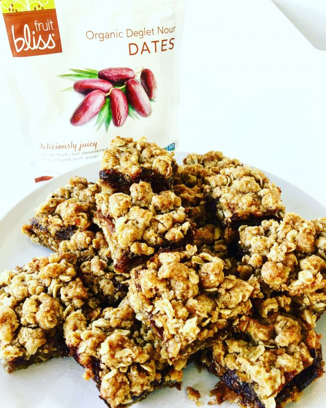 My Famous Date Squares