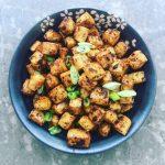 Baked Jerk Tofu