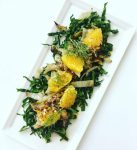 Grilled Fennel, Kale and Orange Salad