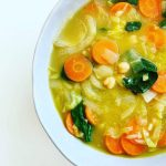 Quick Fennel and Garbanzo Bean Soup
