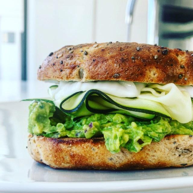 15-Minute Guacamole Sandwich