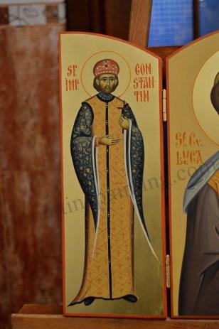 icoana pictata Sfantul Constantin cel Mare