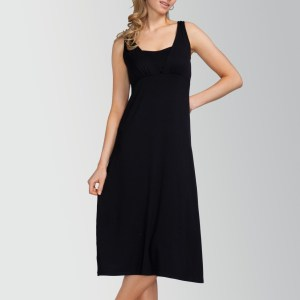 Dress Midi kjole - sort