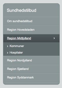 Region Midtjyllands tilbud til kræftramte