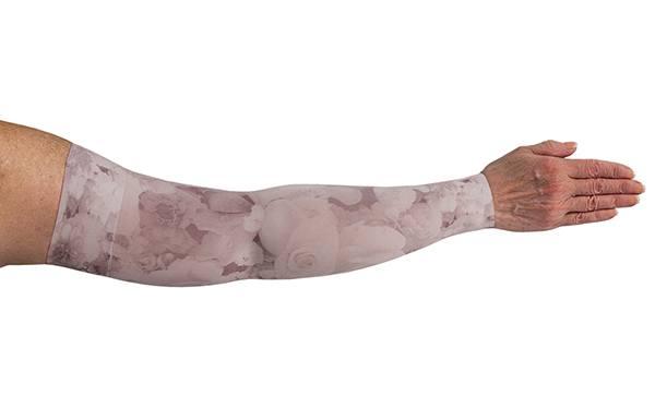 Romantic Rose kompressionsærme fra LympheDivas hos Livja