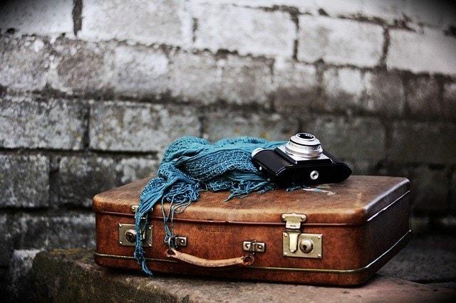 Det ligger der i min rejsekuffert