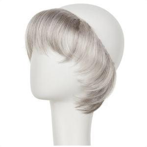 Hairpiece naturlig grå