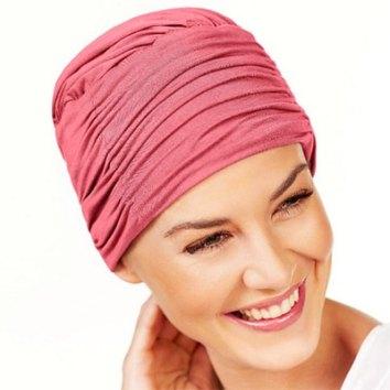 Pink Zen turban