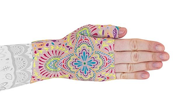 Mandala kompressionshandske uden fingre