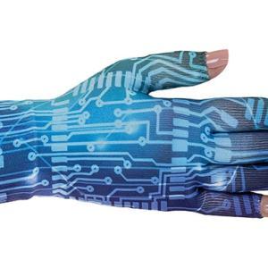 Circuit kompressionshandske med fingre