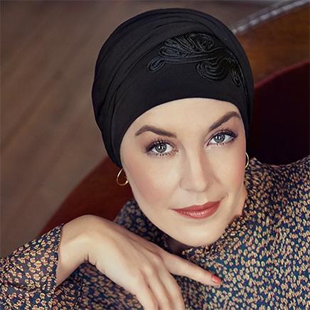 Shakti turban hue i sort