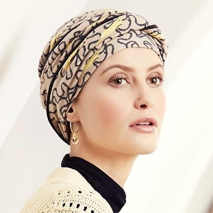 Emmy hue i twirls mønster fra Christine Headwear