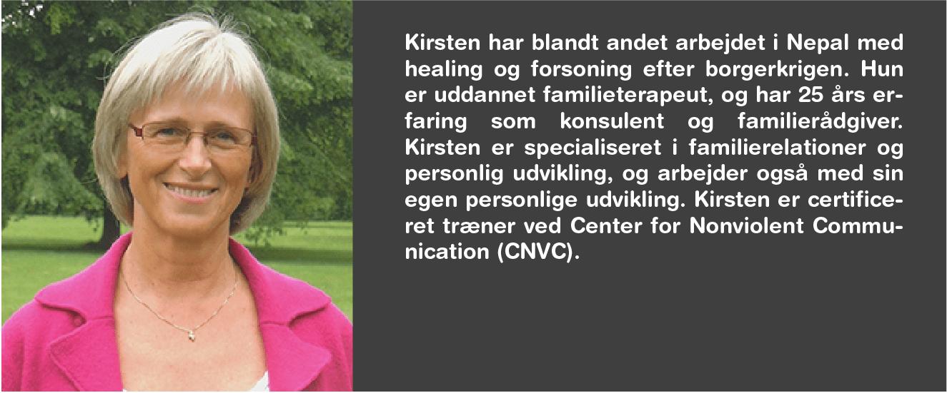 Kirsten Kristensen bag IVK-dagen KONTAKT