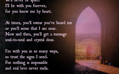 Real Love Never Ends: A Poem for Grieving Hearts (Free Printable)