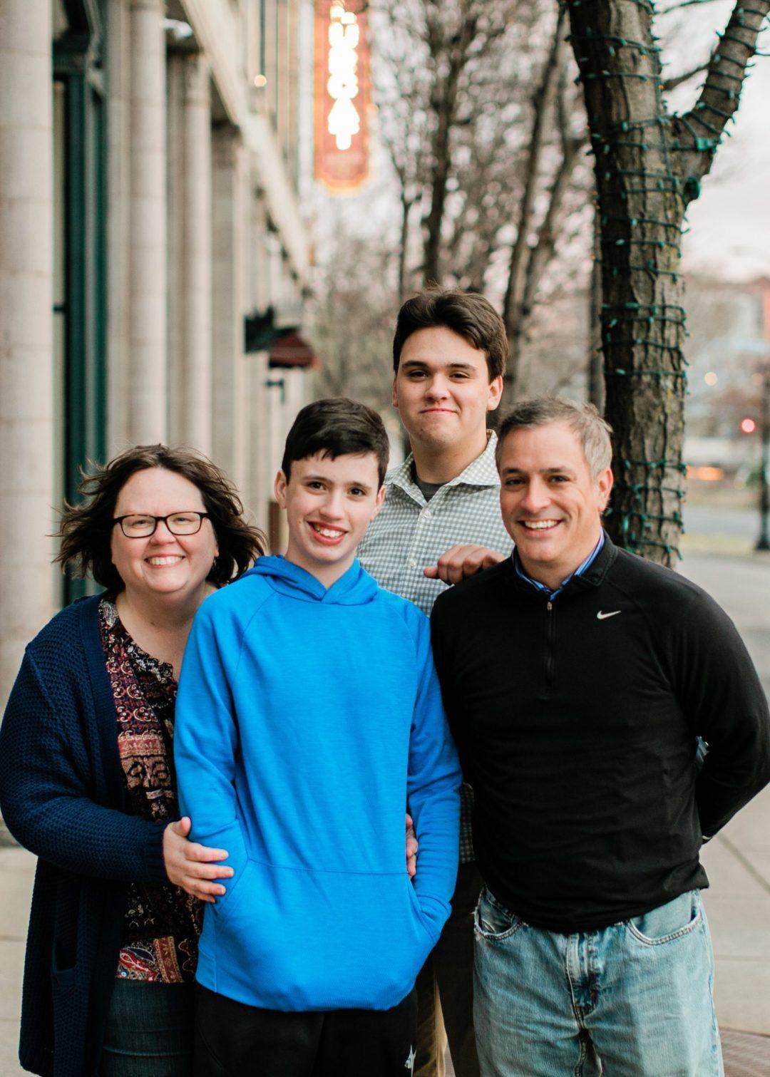 Liv Lane and family   Photo by Tera Girardin