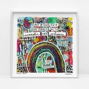 Inspiration art print from Liv Lane: Scenic Route