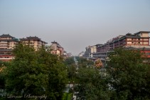 View from Xi'an City Wall