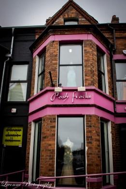 Posh frocks in Belfast