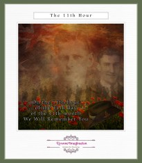 On the 11th hour of the 11th day of the 11th month, we will remember