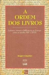 ROGER CHARTIER A ORDEM DOS LIVROS EPUB