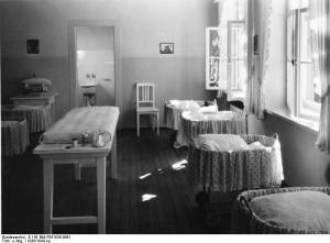 Lebensbornheim, Säuglingszimmer