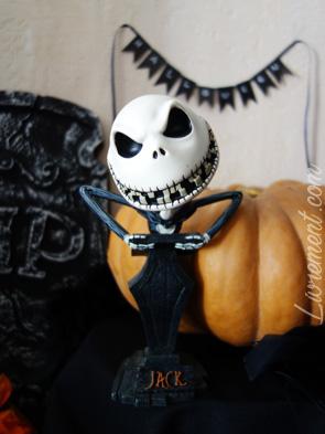 Statue de Jack pour Halloween