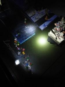 Nuit de la lecture 2018 Livre où sortent les personnages sous forme de jouets (légo, playmobil)
