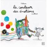 """Couverture de l'album """"La couleur des émotions"""" d'Anna Llenas"""