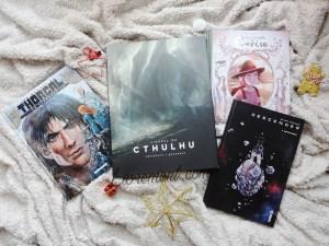 Acquisitions livres graphiques décembre 2017 blog Livrement